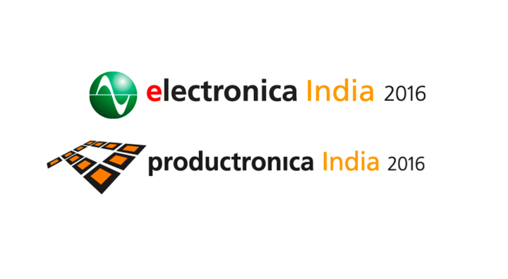 electronica India and productronica India