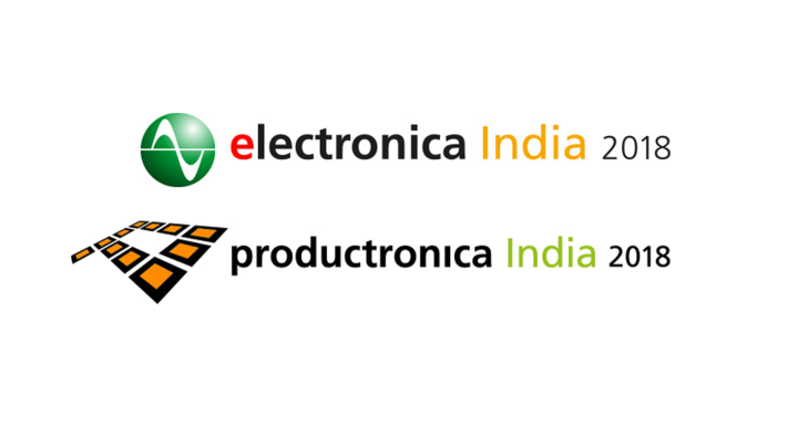 electronica India and productronica India 2018