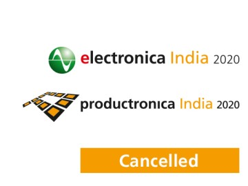 electronica India, productronica India and MatDispens 2020 will not take place